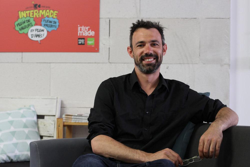 Cédric Hamon, directeur de l'incubateur Inter-Made