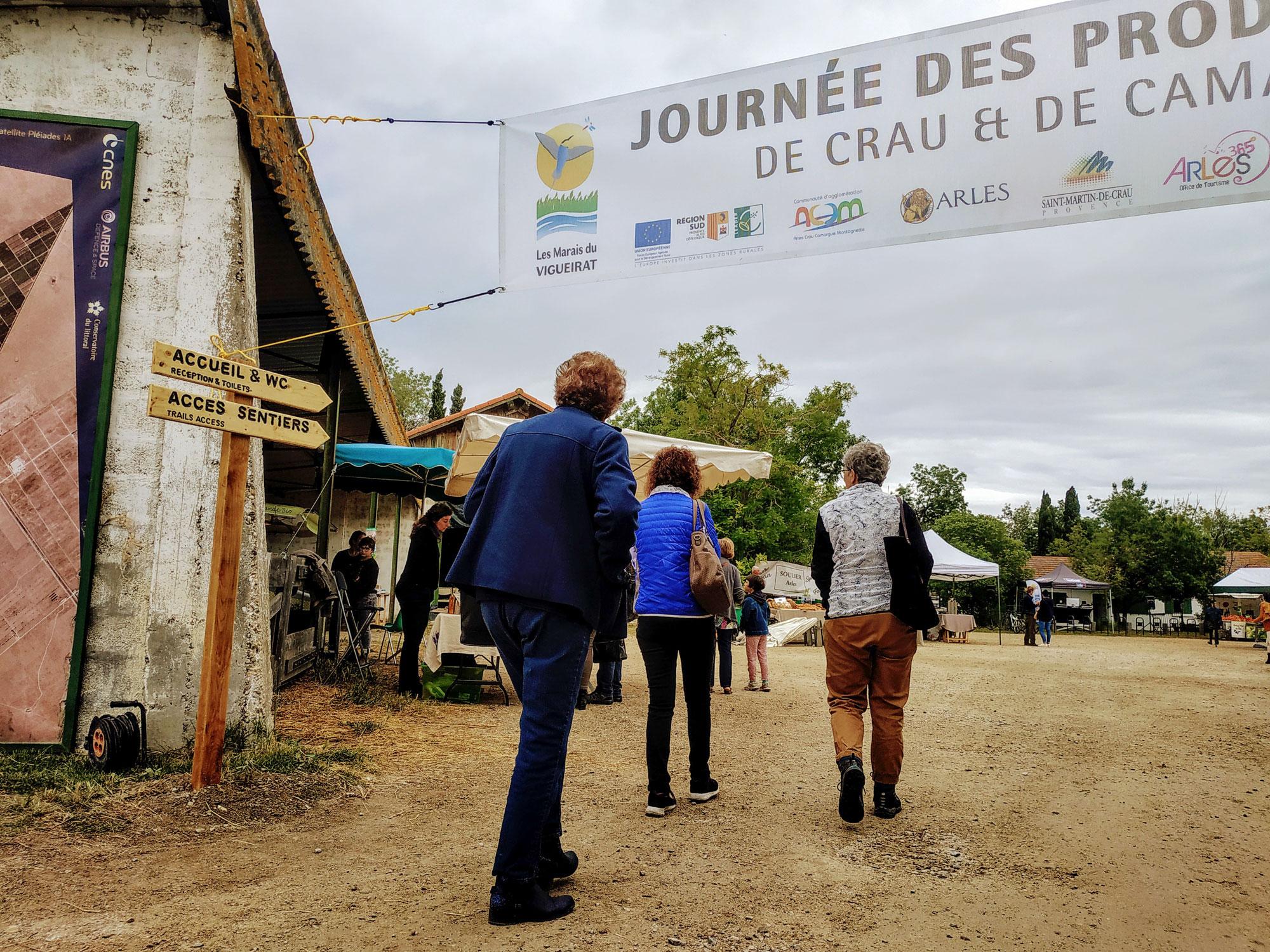 Journée des producteurs au Marais du Vigueirat