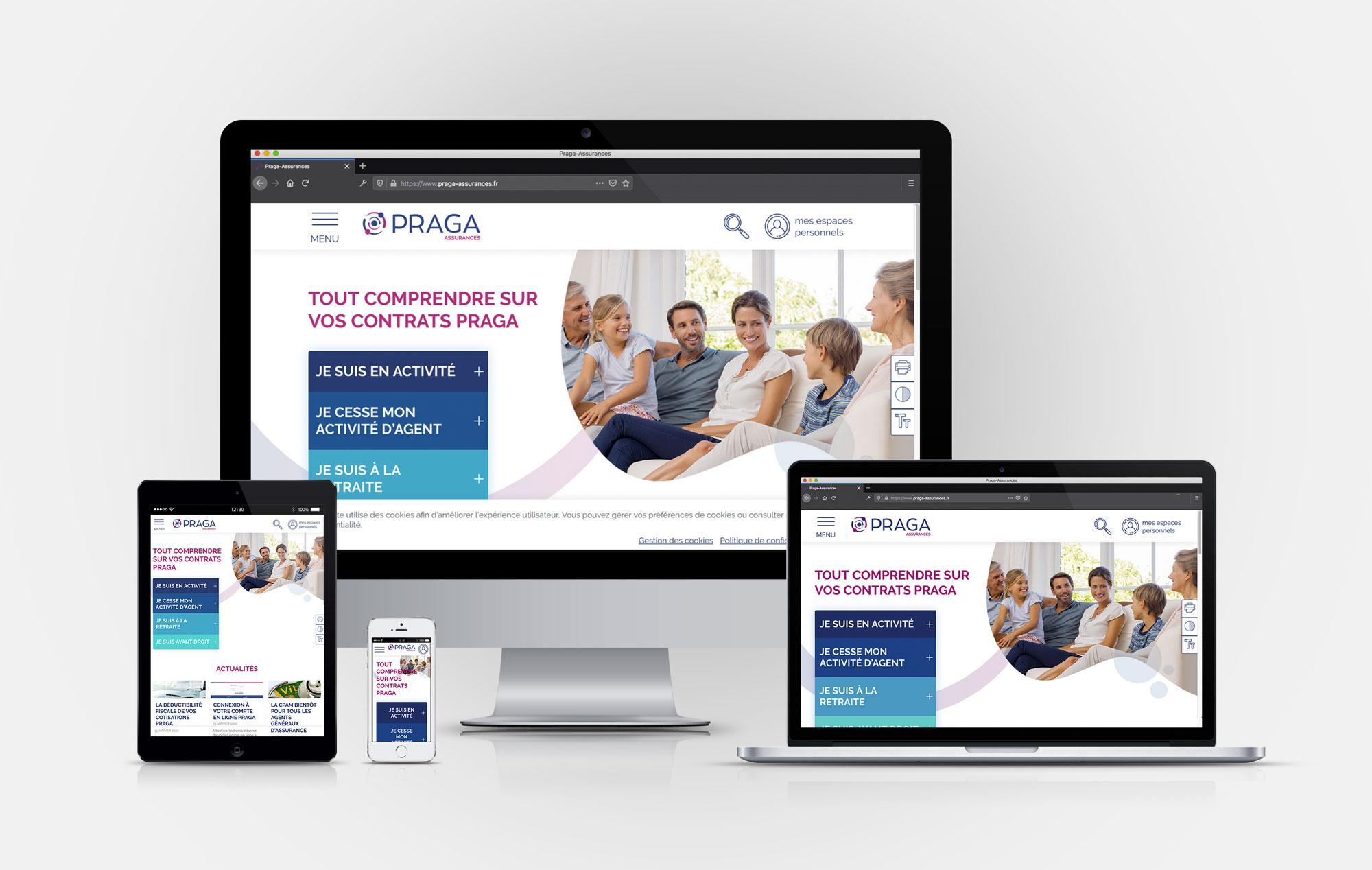 Webdesign Praga