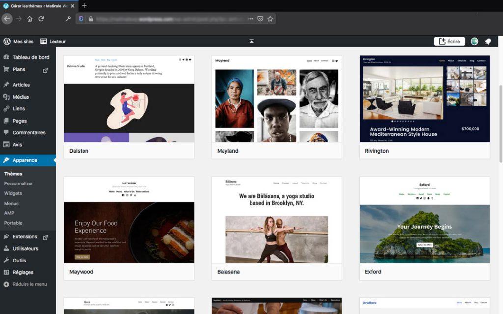 Matinal webinaire CRESS PACA - Thèmes gratuits WordPress