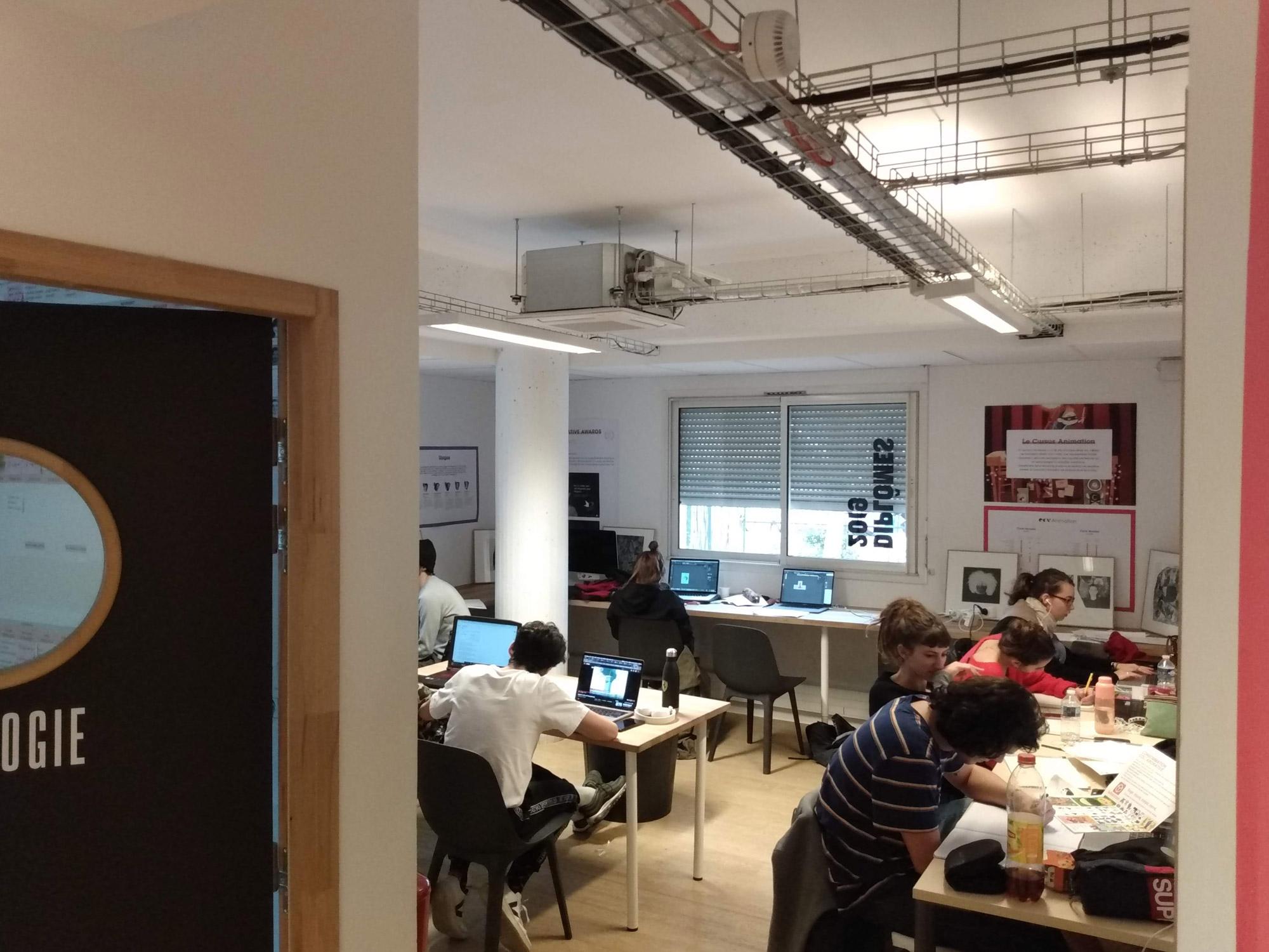 workshop à l'ECV à Aix-en-Provence, sur communication éthique et crowdfunding
