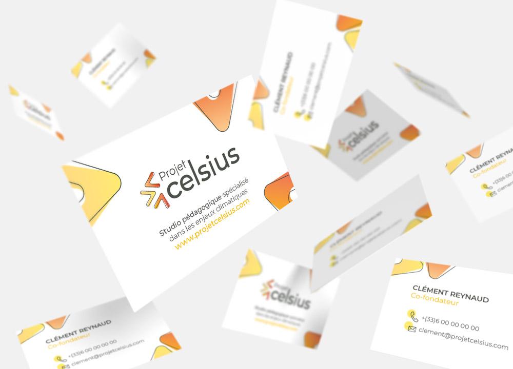 Carte de visite Projet Celsius