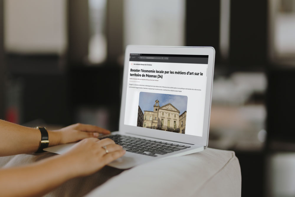 MockUp Rédaction Article - La Banque des territoires